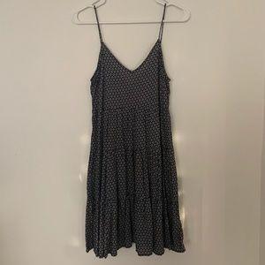 Daisy patterned flowy dress